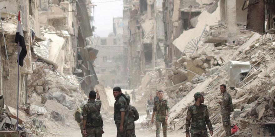 Rejim, Halep'in tamamını ele geçirdi