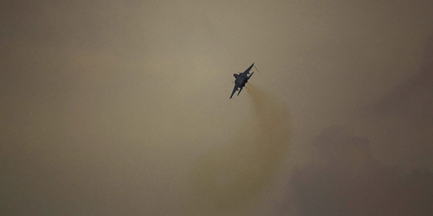 Rejim, sınırı geçen İsrail uçaklarına müdahale etti