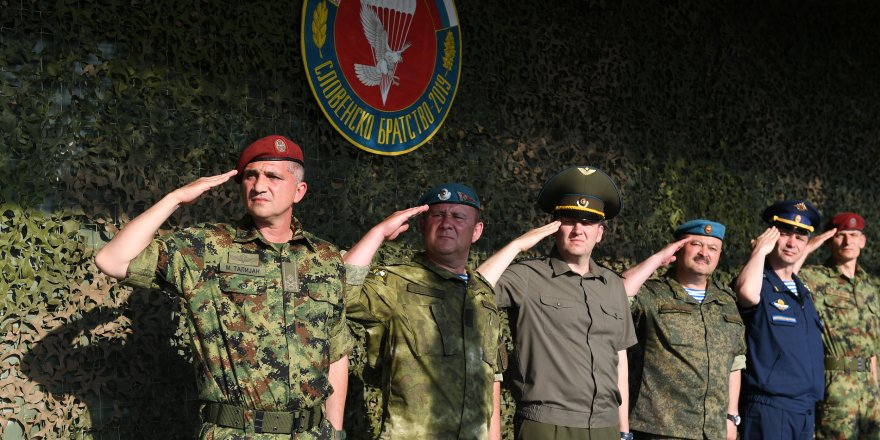 Rus ve Sırp askerler, Slav Kardeşliği-2020 tatbikatı için Belarus'a gidecek