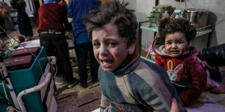 Rusya 5 yılda Suriye'de on binlerce sivili katletti