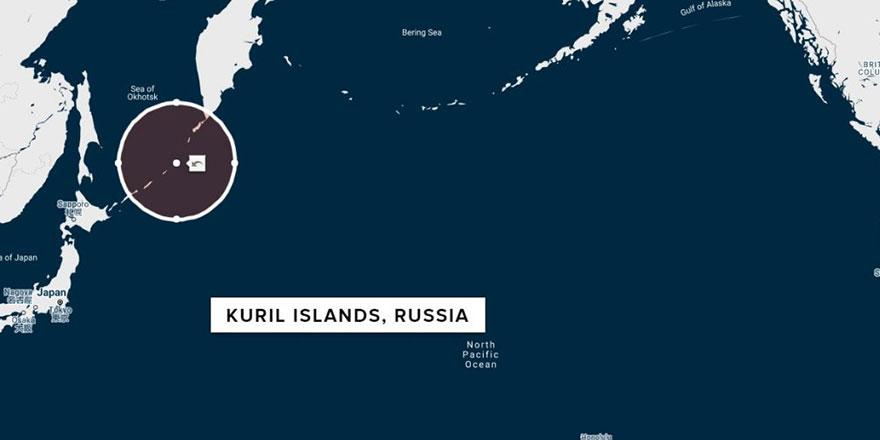 Rusya, 7,5 şiddetinde deprem ile sarsıldı