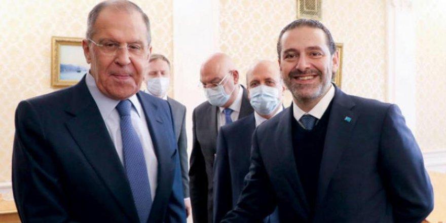 Rusya Dışişleri Bakanı Lavrov, Lübnan Başbakanı Saad Hariri'yle görüştü