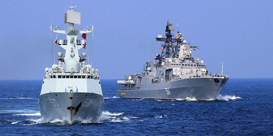 Rusya ve Esed rejiminden ortak tatbikat