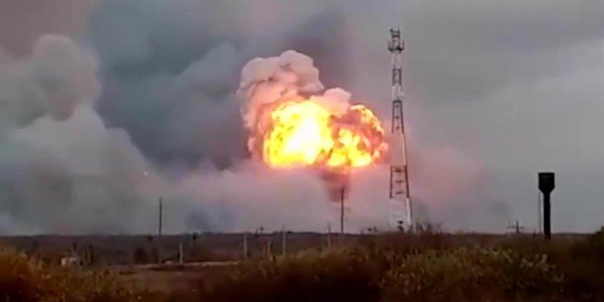Rusya'da silah deposu patladı