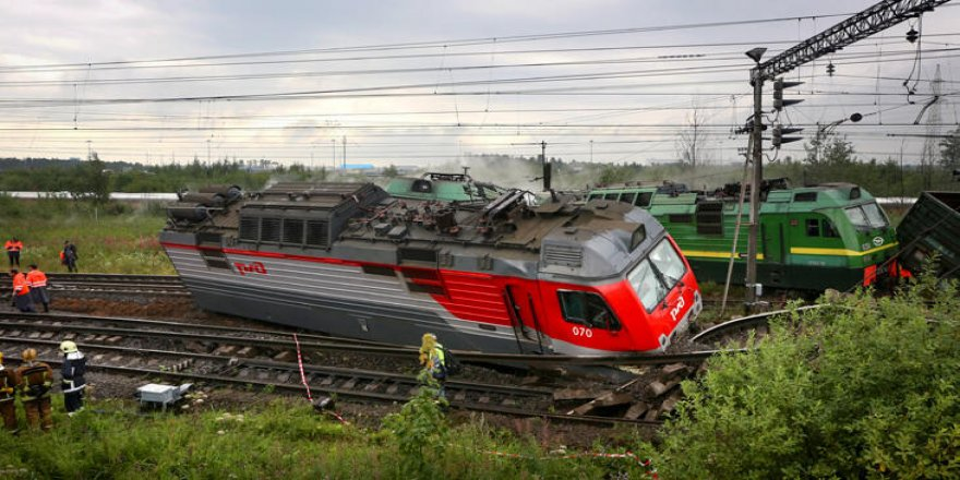 Rusya'da tren kazası