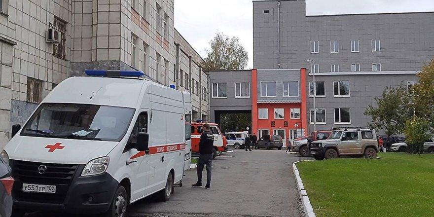 Rusya'da üniversiteye yapılan silahlı saldırıda 8 kişi hayatını kaybetti