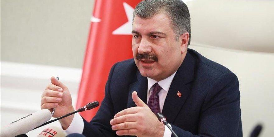 Sağlık Bakanı Fahrettin Koca, basın açıklamasında bulundu