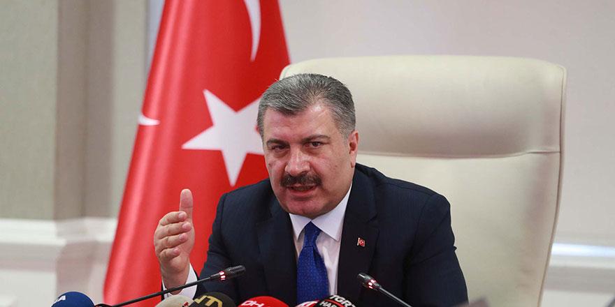 Sağlık Bakanı Fahrettin Koca, Van'daki vaka sayısı artışına dikkat çekti