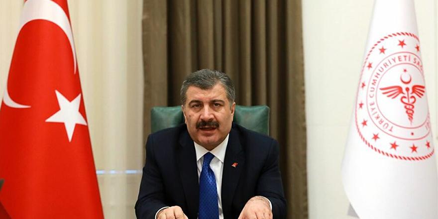 Sağlık Bakanı Koca son 24 saatin verilerini açıkladı