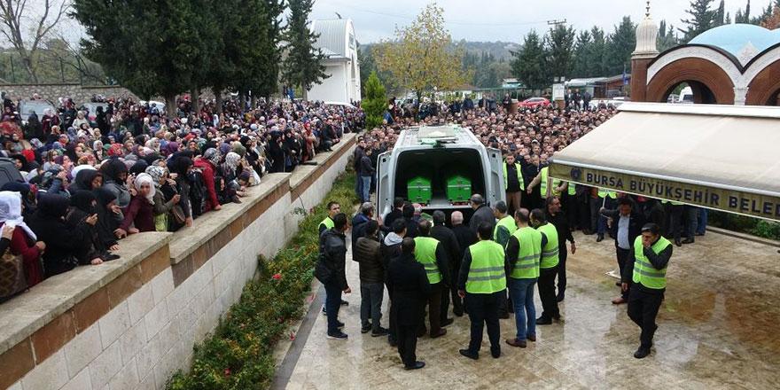 Sahte peygamberin Bursa'daki cenazesine yoğun katılım