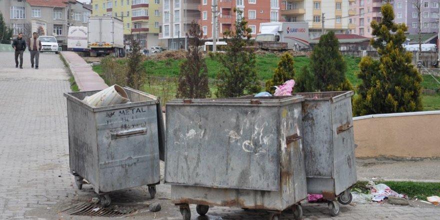 Samsun'da bebeğini çöpe bırakan anne yakalandı