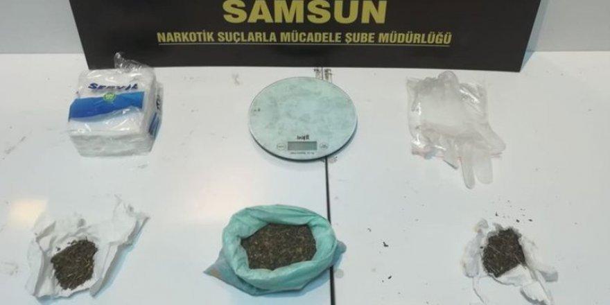 Samsun'da düzenlenen uyuşturucu operasyonunda 6 gözaltı