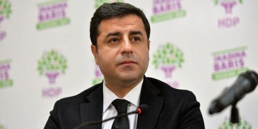 Selahattin Demirtaş hakkında yeni iddianame: 3 yıla kadar hapsi istendi