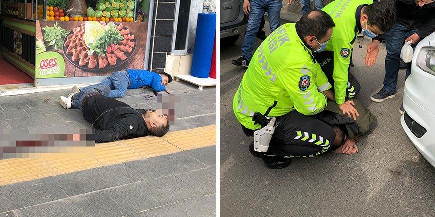 Siirt'te güpegündüz sokak ortasında dehşet!