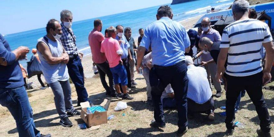 Şile'de denize giren 3 kardeşten ikisi boğularak canverdi