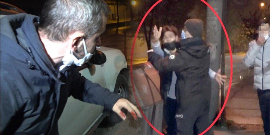 Sokağa çıkma yasağına uymadı üstüne gazetecinin burnunu kırdı
