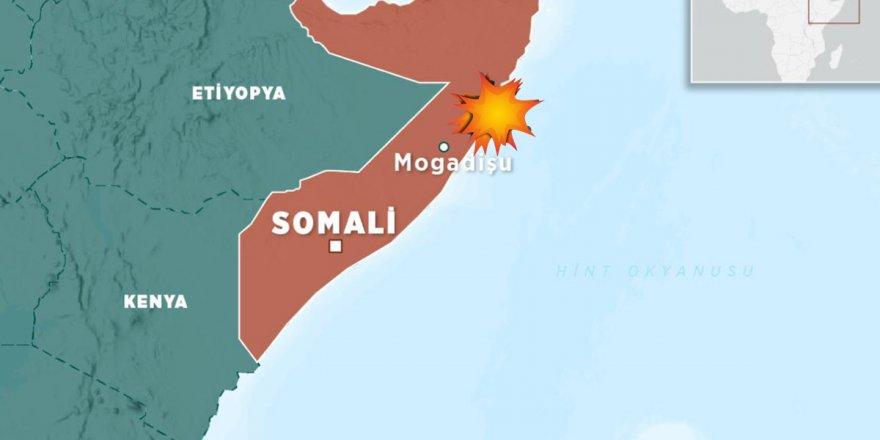 Somali'nin başkenti'nde büyük patlama!