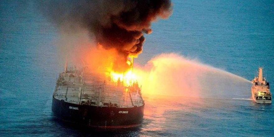 Sri Lanka'da petrol tankerinde yeni yangın