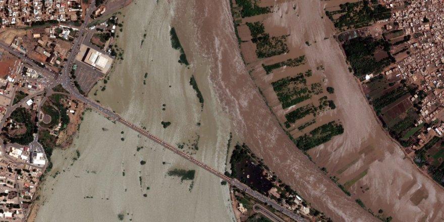 Sudan'ın başkenti Hartum sular altında kaldı