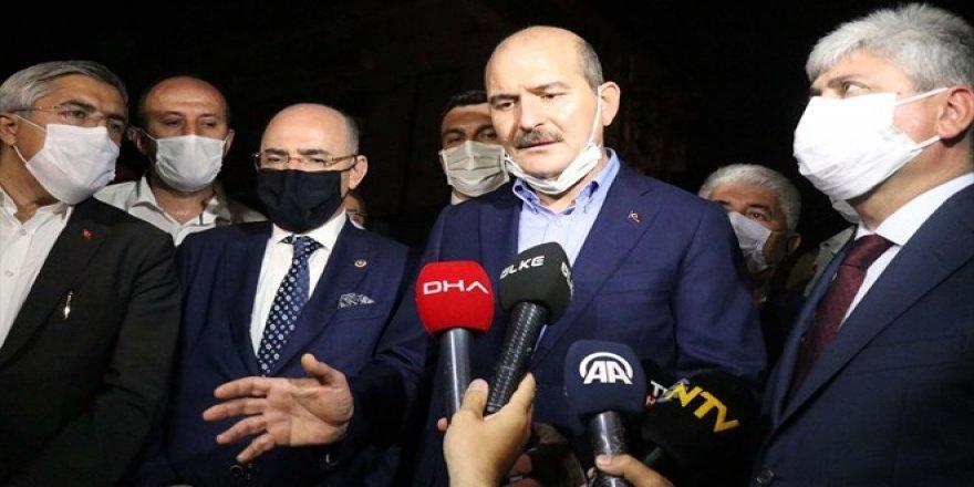 Süleyman Soylu'dan Hatay'da çıkan yangına ilişkin açıklama