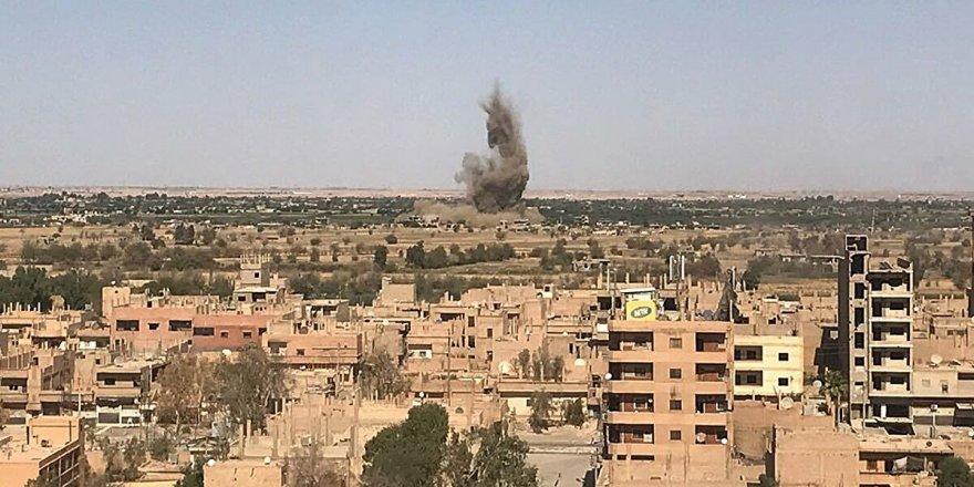 Suriye'de İran destekli gruplara kimliği belirsiz hava saldırısı