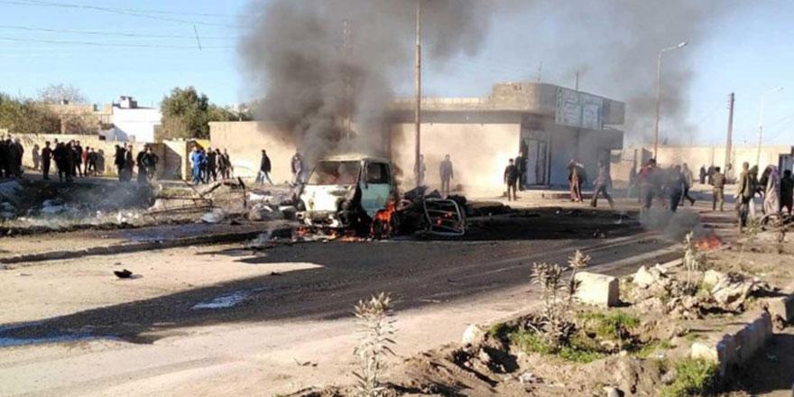 Suriye'de TSK kontrol noktasına saldırı