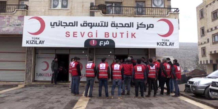 Suriye'nin kuzeyinde Kızılay'a saldırı