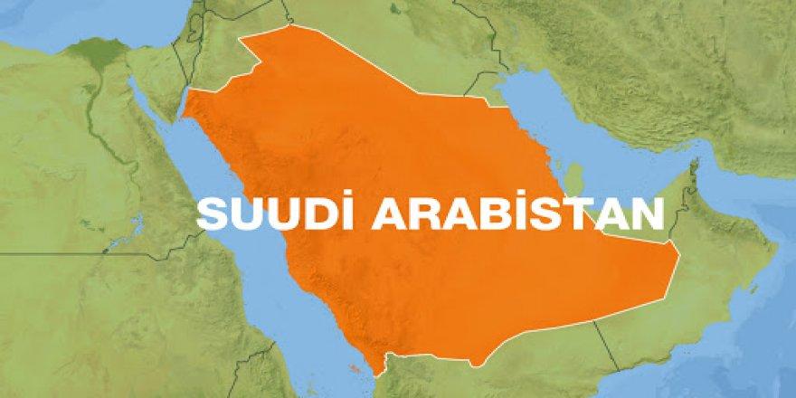 Suudi Arabistan'ın başkentiRiyad'dapatlama!
