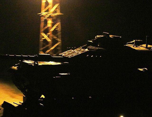 Tanklar kara harekatı için sınırı geçti!