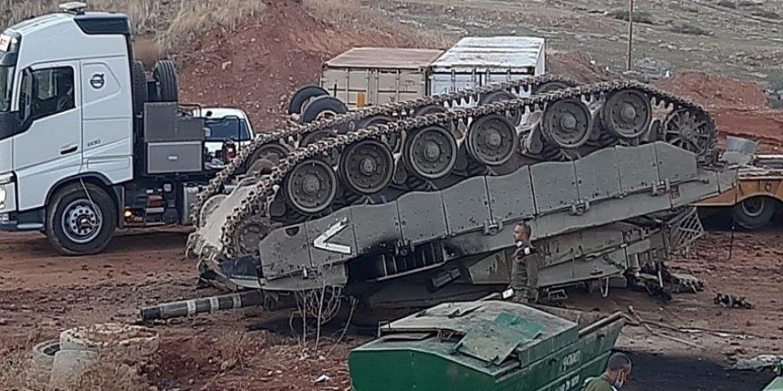 Tatbikatta tank deviren İsrail ordusu alay konusu oldu