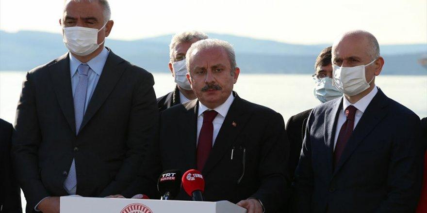 TBMM Başkanı Mustafa Şentop: Anayasamızda parti kapatma var, bir ilk değil