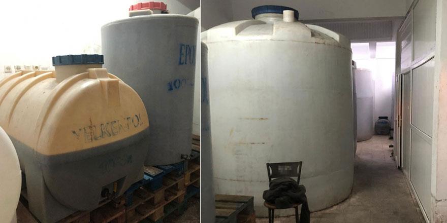 Tekirdağ'da kaçak içki üretenlere operasyon: 90 bin litre ele geçirildi