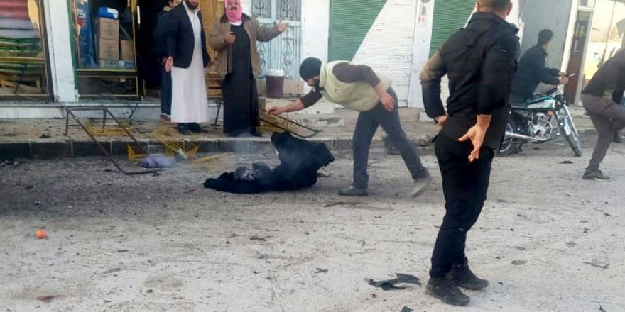 Tel Abyad'dabombalı saldırısı: 3 ölü, 1 yaralı