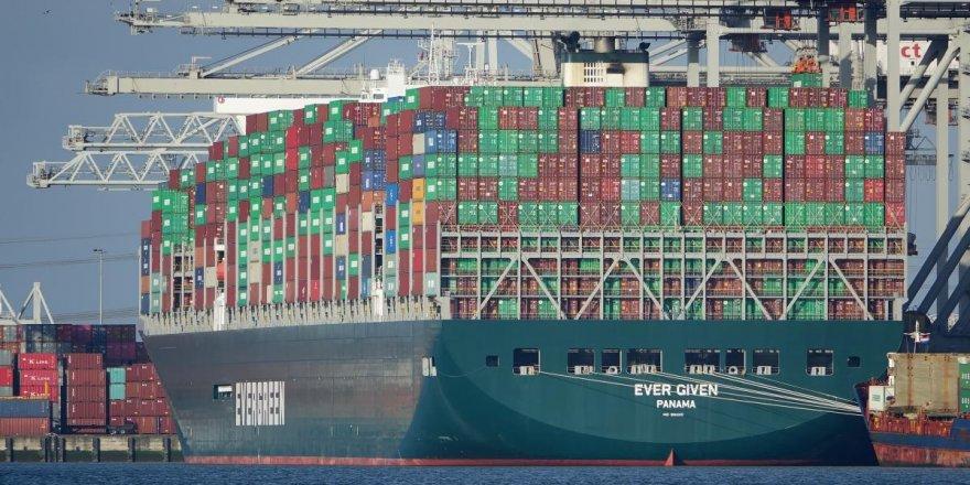 'The Ever Given' yük gemisi için 900 milyon dolar tazminat