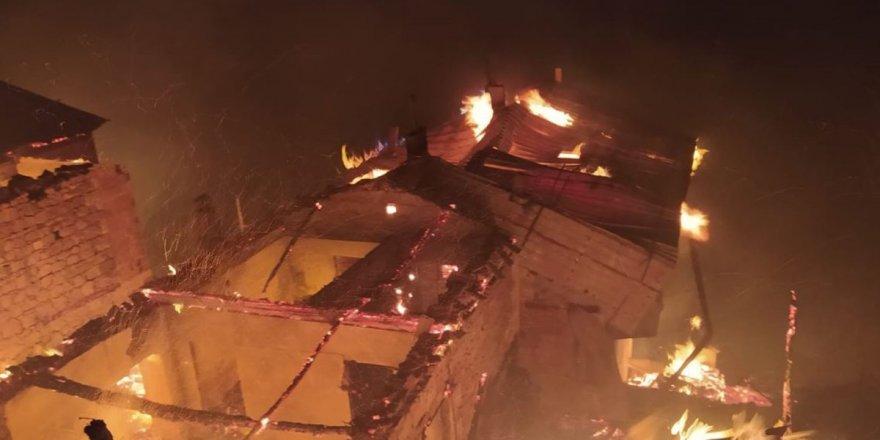 Trabzon'da çıkan yangının bilançosu ağır oldu!