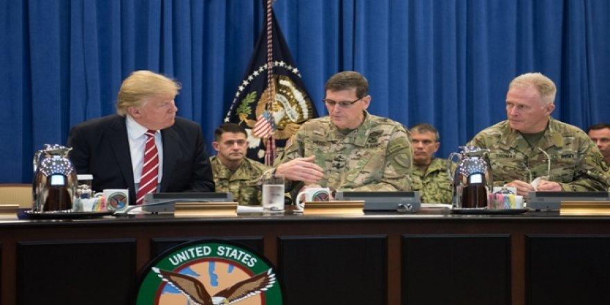 Trump: Pentagon'un başındakiler beni sevmiyordur, savaştan başka bir şey istemiyorlar!