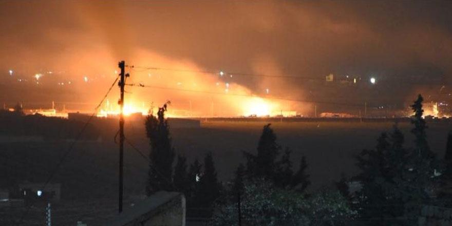 TSK, Afrin'e giren askeri konvoyu vurdu