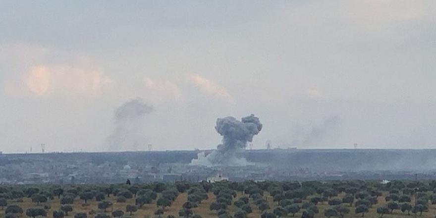 TSK, Rejime ait Neyrab Havaalanını bombaladı