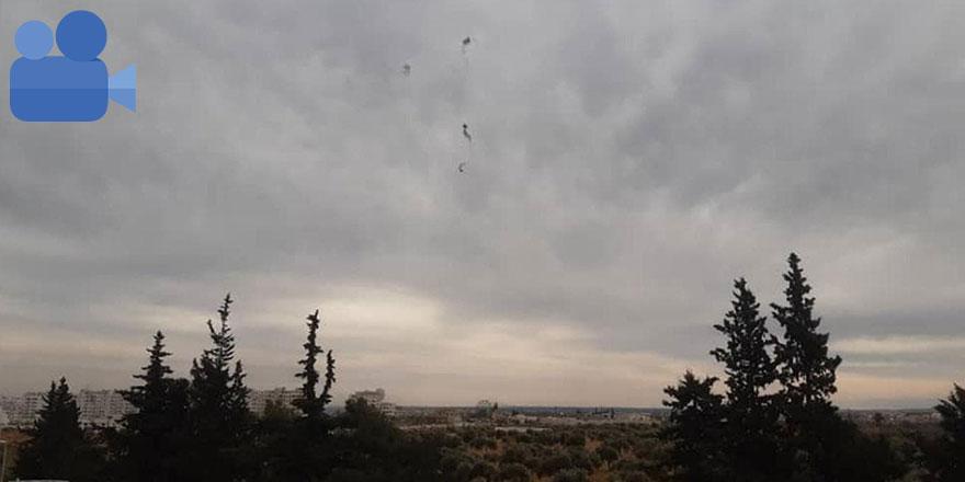 Türk askerleri rejim helikopterini düşürdü!