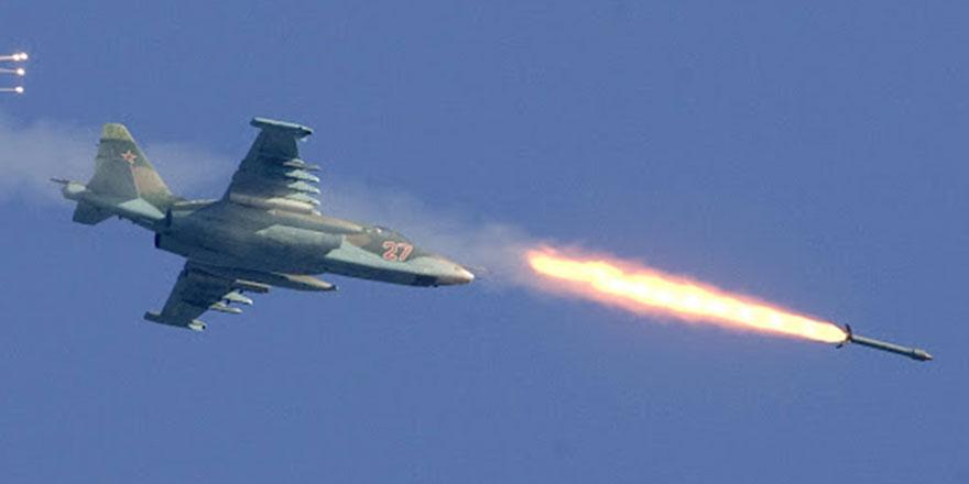 Türk askerlerine yönelik hava saldırısı