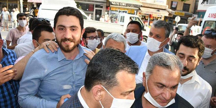 Tutuklu CHP Yüreğir Gençlik Kolları Başkanı tahliye edildi
