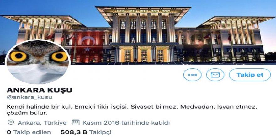 Twitter fenomeni 'Ankara Kuşu' gözaltına alındı