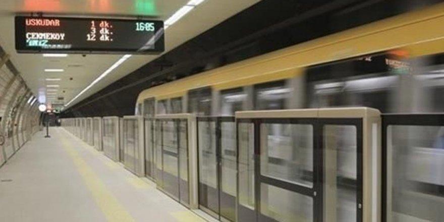 Üsküdar metrosunda intihar girişimi
