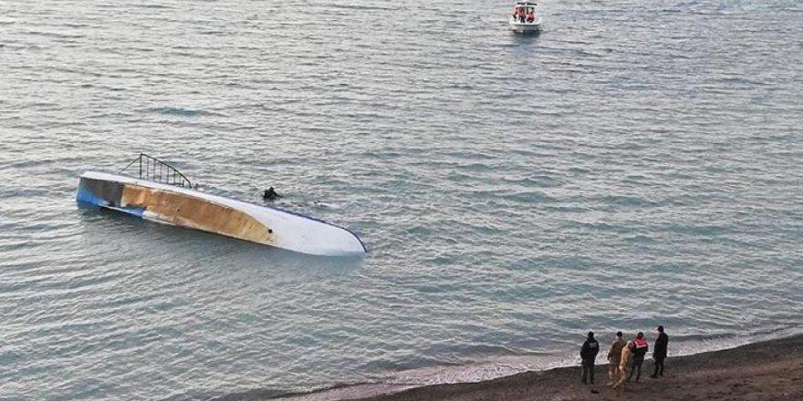 Van Gölü'nde alabora olan teknede yedi göçmenin ölümünde 10 ay sonra flaş gelişme!