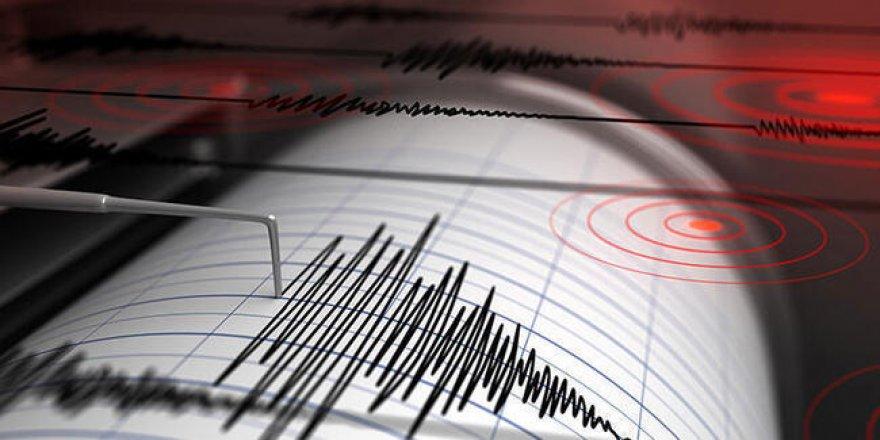 Van'da 4,7 büyüklüğünde deprem!