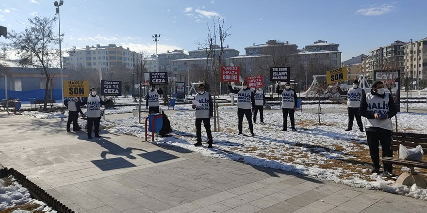 Van'da gözaltına alınan Tevhid Dergisi gönüllüleri hakim karşısına çıktı