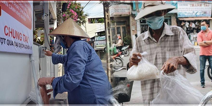 Vietnam'da pirinç ATM'si açıldı