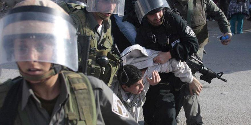 Yahudi polisi Kudüs'te 2 çocuğu tutukladı