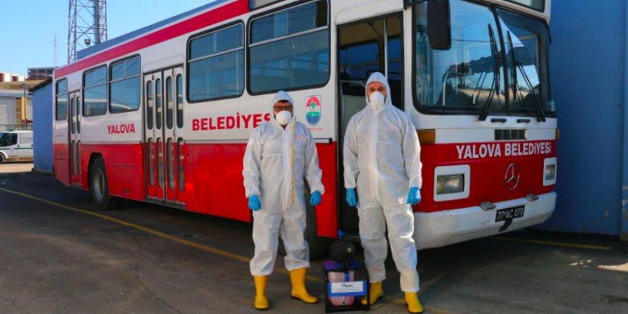 Yalova Belediyesi'nden yeni koronavirüs önlemi