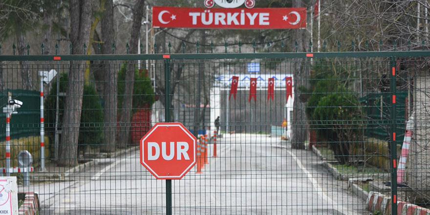 Yanlışlıkla sınır kapısını geçen işçi savcılığa sevkedildi